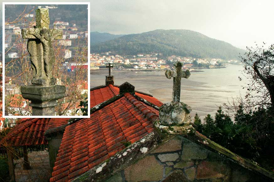 A string of chapels and 'cruceiros' (stone crosses) safeguards the spirituality of the people of the sea